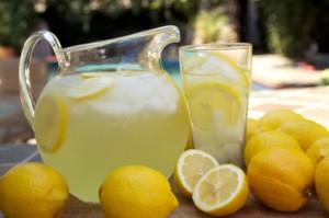 Homemade Lemonade With Essential Oils Of Course