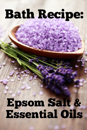 Sore Muscle Solution Epsom Salt Bath With Essential Oils