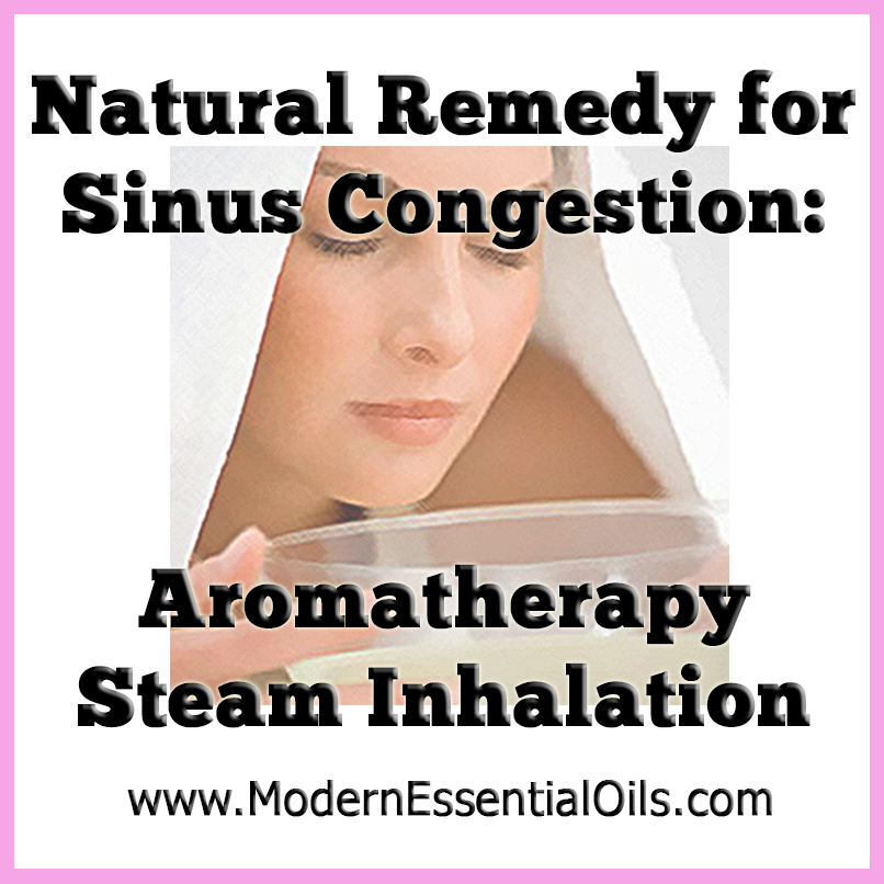 Steam Inhalation Home Remedy For Nasal Congestion